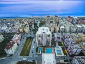 Alanya-Mahmutlar,ruime luxe appartementen op 100 m van zee