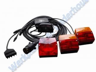 Aspock verlichtingset kompleet met 5 mtr. kabel