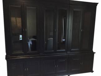 Opruiming buffetkast zwart - zwart 300 x 240cm