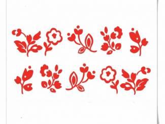 Bloemen |Caravan & Camper decoratie stickers