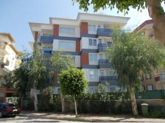 Turkije-Oba bemeubelde 1 slpk appartementen, 300M van strand
