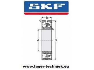 SKF 22209-E Tweerijig Tonlager