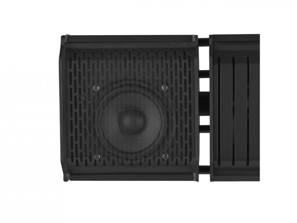 Tuin en Terras Eurom Heat and Beat Black Terrasverwarmer met Bluetooth ...