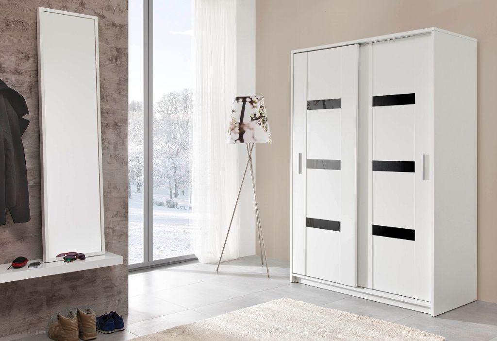 Voorraad moderne witte kledingkast presto 140 of 204 cm nieuw kasten en dressoirs - Kledingkast en dressoir ...
