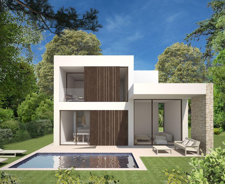 Moderne nieuwbouw villa's in Denia Costa Blanca