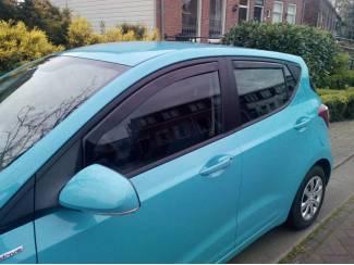 zijwindschermen Hyundai pasvorm Heko donkere raamspoilers oa i10