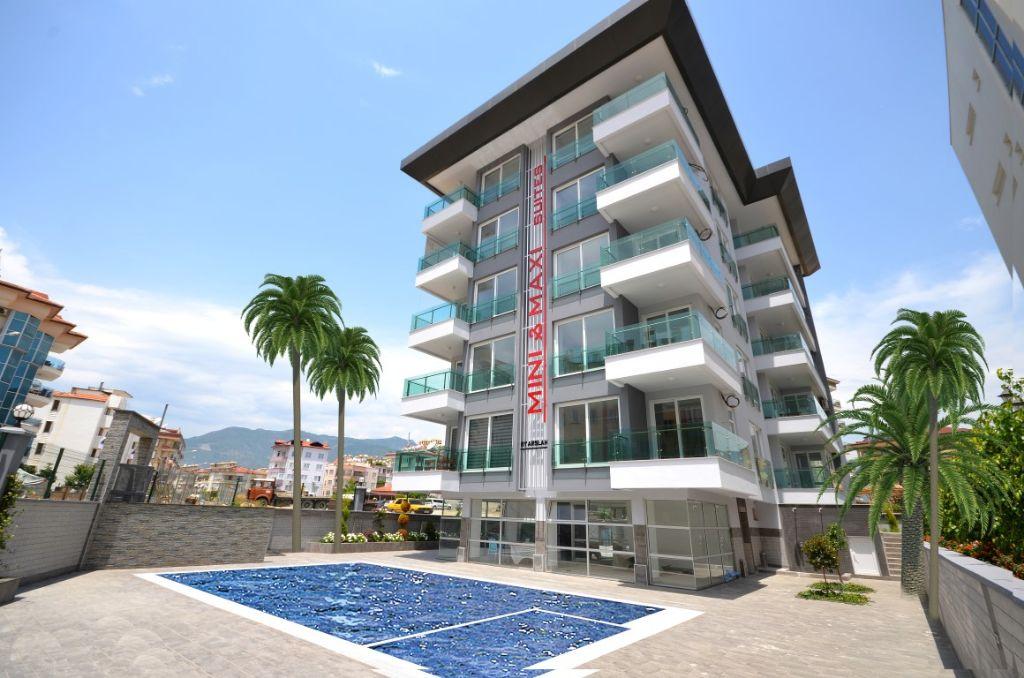 Turkije-Oba 1 en 2 slpk appartementen, 200M van de zee