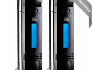 2 x UV ionisator Luchtreinigers PR-135 tot 40 m² - 100 m³!