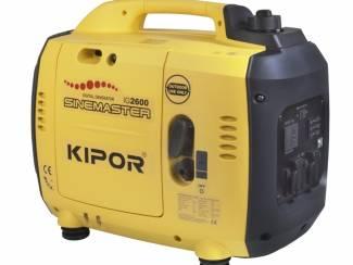 Kipor Sinemaster IG2600 Generator. (Benzine) (Silent)