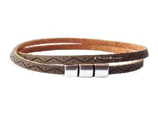 Wikkelarmband met aztec print.