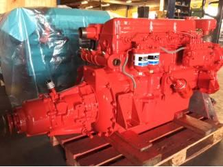 Gerevis. Ford 2713E scheepsmotor incl Velvet keerkoppeling