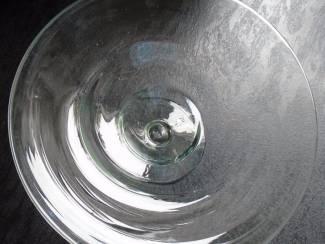 GLAZEN FRUITSCHAAL DIA 30 CM NIEUW