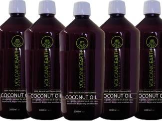 Massage olie - 100% pure kokosolie met behoud van actieve stoffen