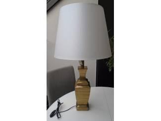 LAMP MET KAP SUPER GROOT ECRU Nieuw