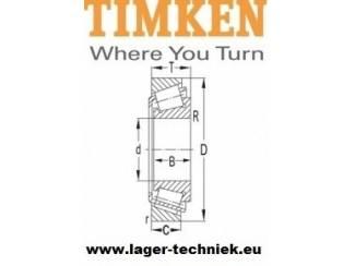 Timken 32007-X Kegellager Scherpe prijs