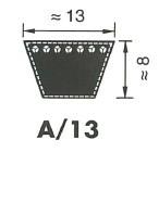 1 stuk Megadyne A96 13x2438 Li V-snaar