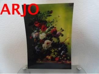 Drie D poster - Bloemen print nr 89 - GEEN VERZENDKOSTEN.