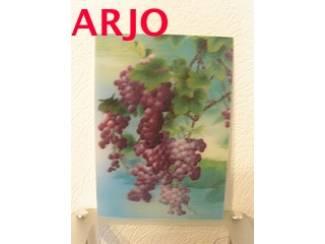 Drie D poster - Druiven print nr 11 - GEEN VERZENDKOSTEN.