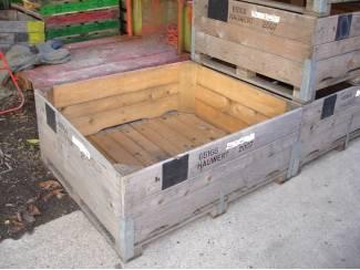 Tuinbouw kuubskisten palletboxen voorraadbakken kisten opslagkist verzend