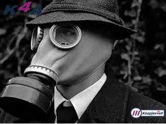 Gasmaskers met filter en opbergtas - Nieuw en Origineel