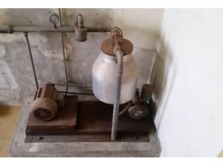 Antieke vacuumpomp Melkinstallatie (Heemaf)