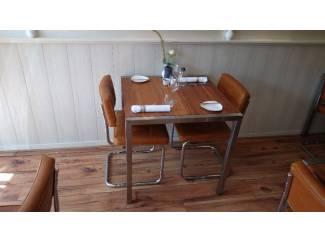 Geef uw bedrijf uitstraling met RVS design meubelen op maat!