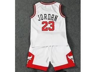 Michael Jordan Chicago Bulls BASKETBAL SHIRT & BROEK KINDER-maten