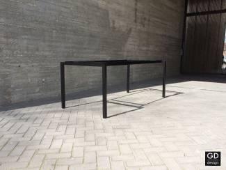 Maatwerk poeder coat eettafel onderstellen/frames/poten