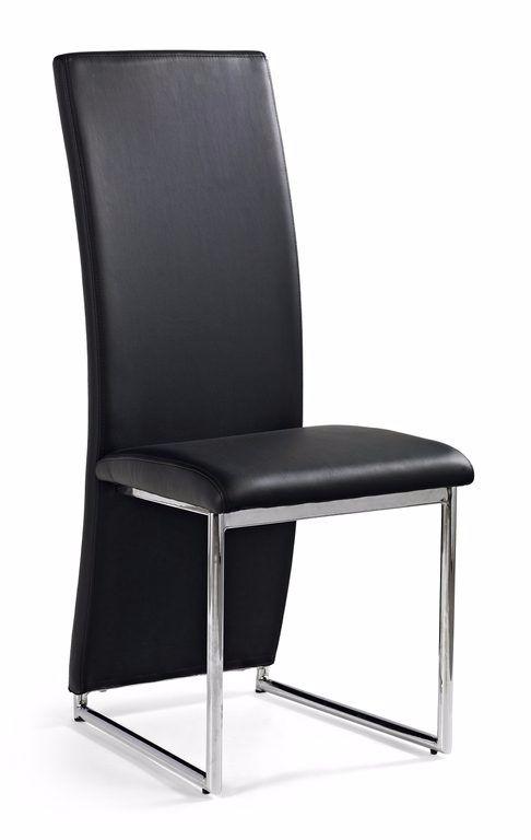 Aanbieding moderne zwarte design eetkamerstoelen nieuw for Zwarte eetkamerstoelen