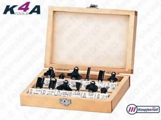 Fermax Profielfrezen - set van 12 in houten beschermkist