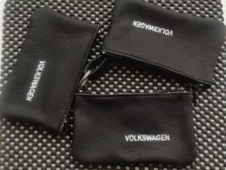 Volkswagen onderdelen Lederen sleutelhoesje, met Volkswagen logo
