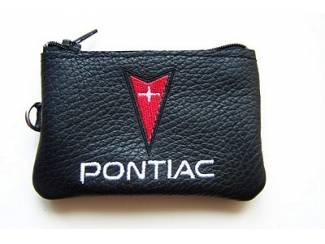 Lederen sleutelhoesje, met PONTIAC logo