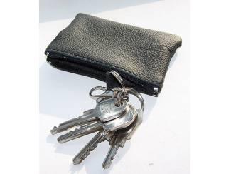 Sleutelhangers Lederen sleutelhoesje, met LAND ROVER logo