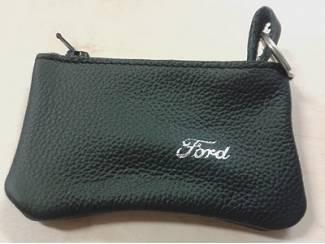Lederen sleutelhoesje, met FORD logo