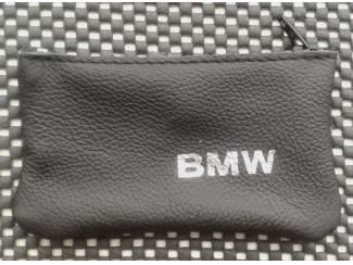 Lederen sleutelhoesje, met BMW logo