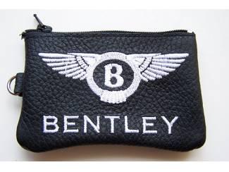 Lederen sleutelhoesje, met BENTLEY logo