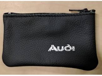 Lederen sleutelhoesje, met AUDI logo