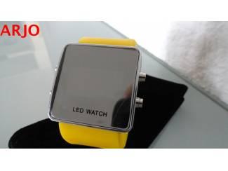 Horloges | Dames LED Digital Horloge, nr 1079 -GEEN VERZENDKOSTEN.