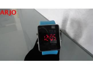 LED Digital Horloge, nr 1081- GEEN VERZENDKOSTEN.