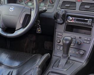 Volvo V70 2 (99-07) automaat - Echt leder Pookhoes : Volvo onderdelen