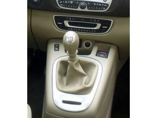 Renault Scenic II - Echt leder pookhoes