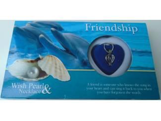 Kettingen UNIEK GIFT LOVE PEARL FRIENDSHIP