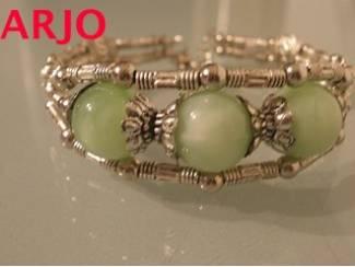 Tibetaans zilveren armband nr 204-GEEN VERZENDKOSTEN.