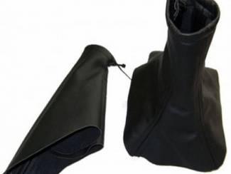 Opel onderdelen Opel Omega C  - Echt leder pookhoes en handremhoes