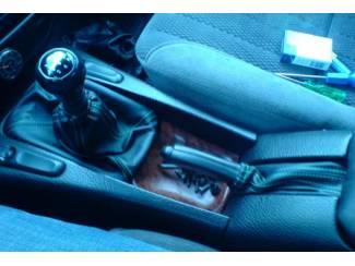 Opel onderdelen Opel Omega B  - Echt leder pookhoes en handremhoes