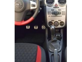 Opel Corsa D - Echt leder Pookhoes