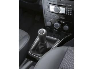 Opel onderdelen Opel Astra H - Echt leder Pookhoes