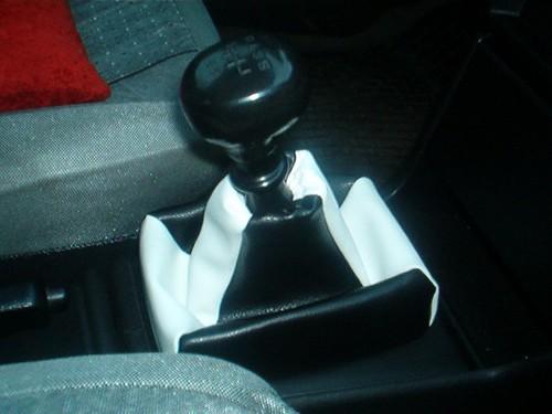 Opel Astra F - Echt leder pookhoes