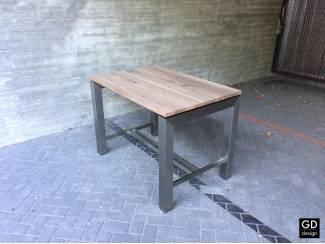 Exclusieve maatwerk RVS design bar tafel
