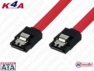 S-ATA (SATA) interne PC data kabels van 0.5 en 1.0 meter